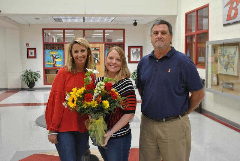 Mrs. Charlotte Harper named Berrien Elementary School's Teacher of the Year Featured Photo
