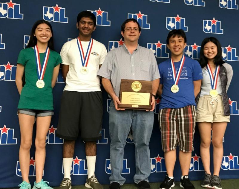 Math and Science Teams win 3 UIL State Championships Featured Photo
