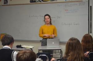 Allison Zuckerman teaching PJ 3