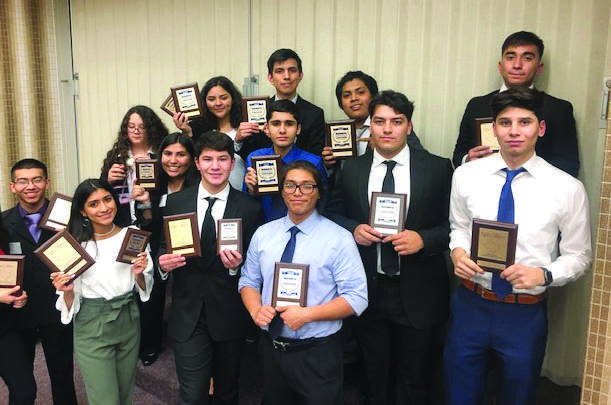 McAllen High BPA students