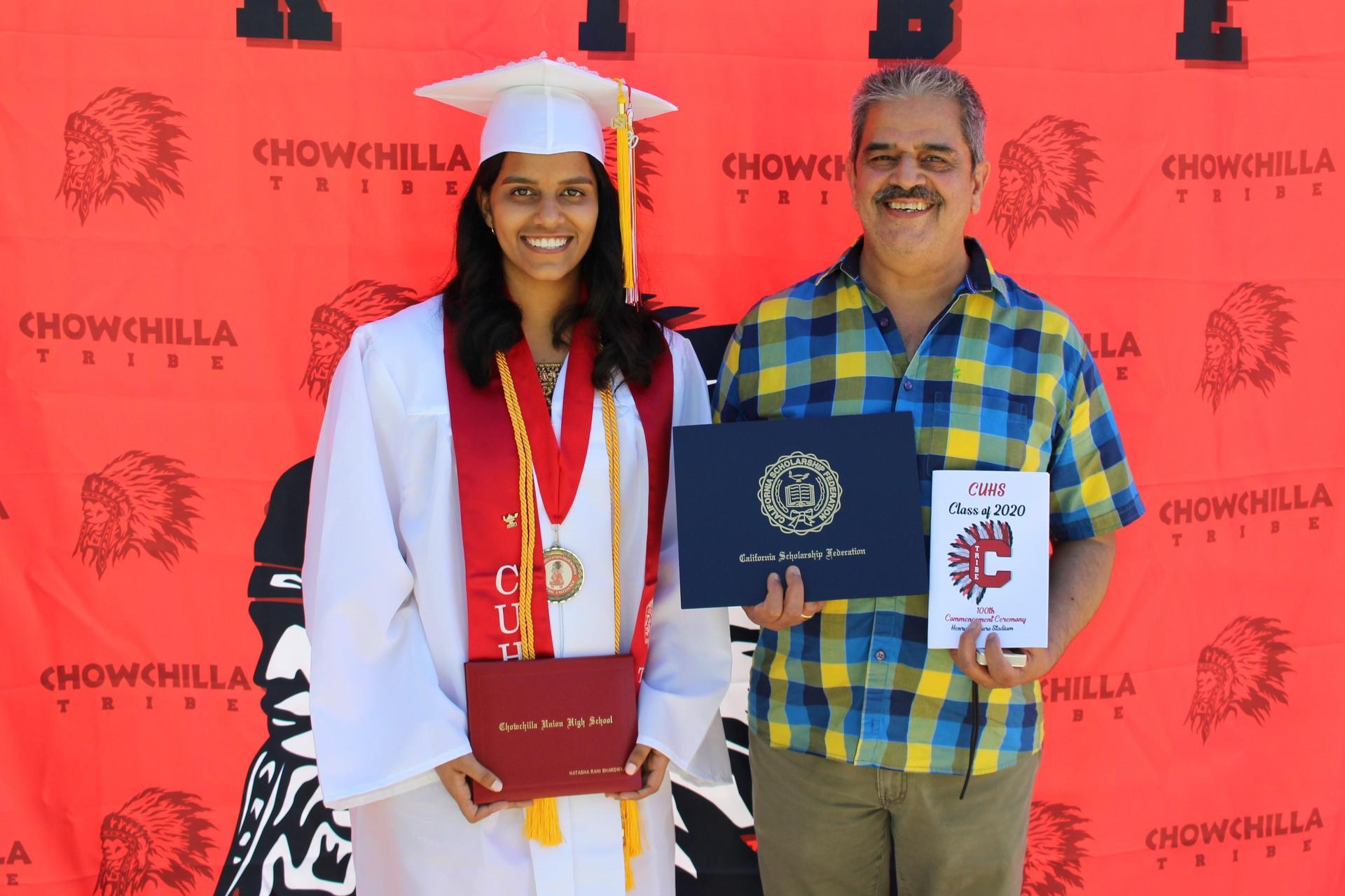 Natasha Bhardwaj and family