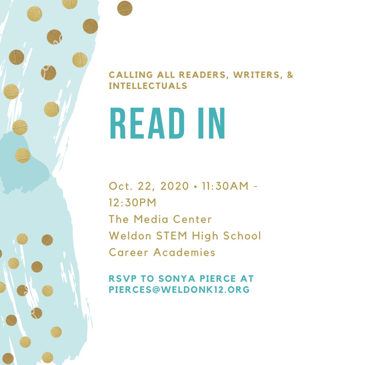 Read In flyer
