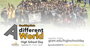 Grambling Fall 2018 High School Day