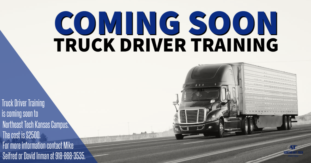 Truck Driver Training Coming Soon
