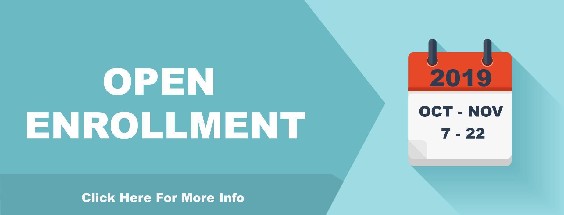 2019 Open Enrollment Banner