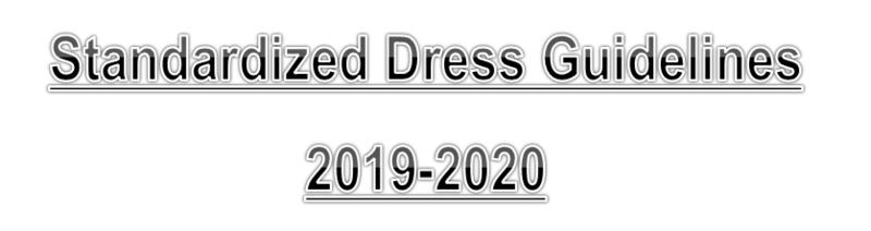 Standardized Dress Guidelines