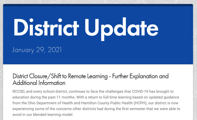 District Update 1-29