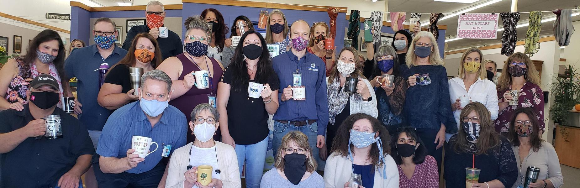 Mug Shot Monday with CCOE Employees