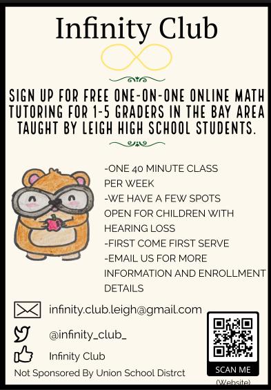 Leigh High School Tutoring Flyer