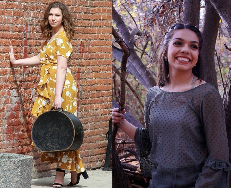 Olivia Hamilton and Alejandra Castaneda portraits