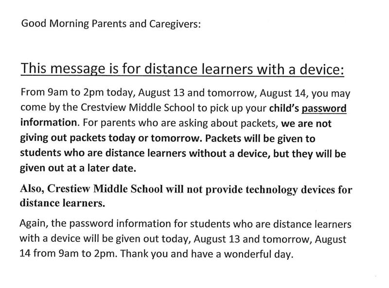 IMPORTANT INFORMATION released from CMS