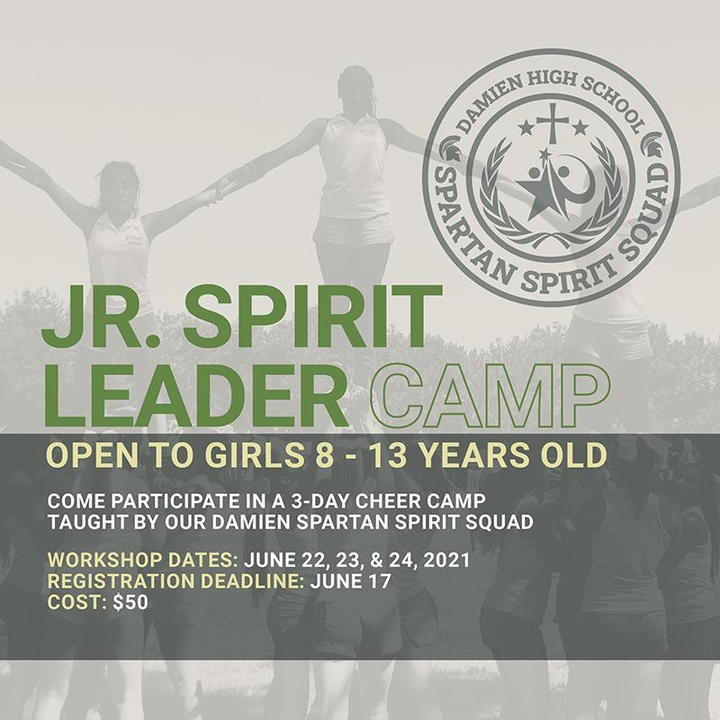 Junior Spirit Leader 3 Day Camp taught by our Spartan Spirit Leaders Featured Photo