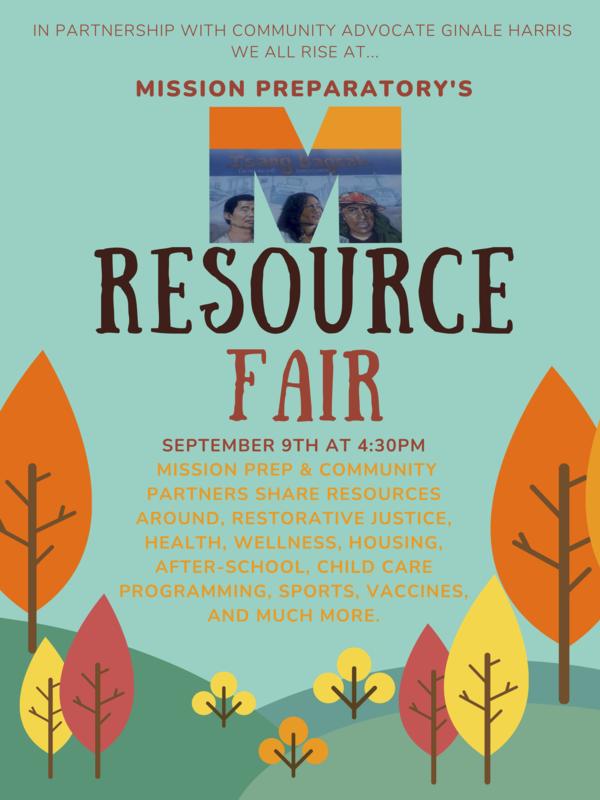 2021-22 Beginning of Year- Resource Fair! Featured Photo