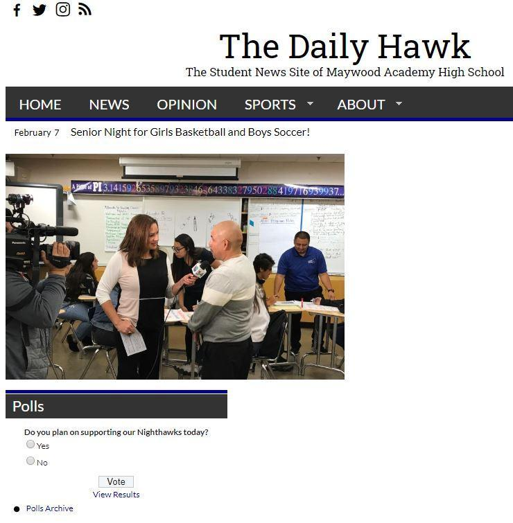 Daily Hawk Website