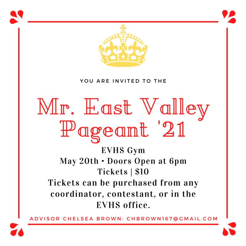 Mr. East Valley Pageant Featured Photo