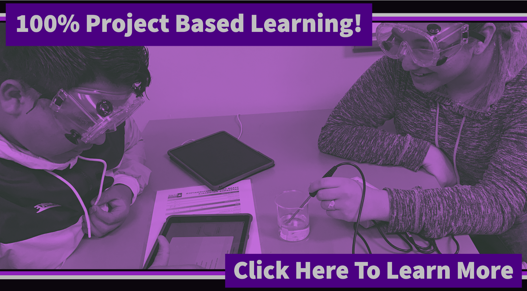 100% Project Based Learning!