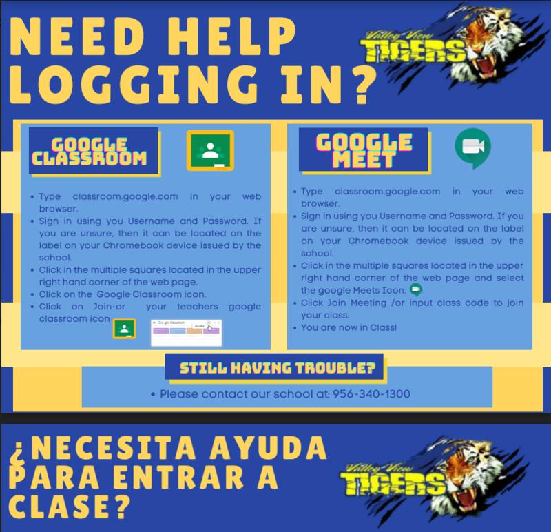 Need Help Login in? / ¿Necesita ayuda para iniciar sesión? Thumbnail Image