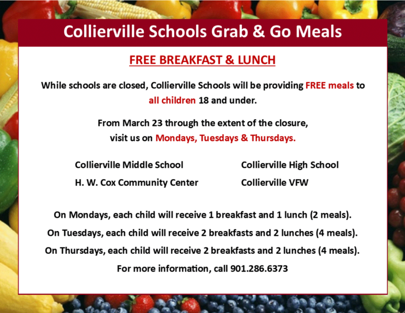 Collierville Schools Grab and Go Meals Program Featured Photo