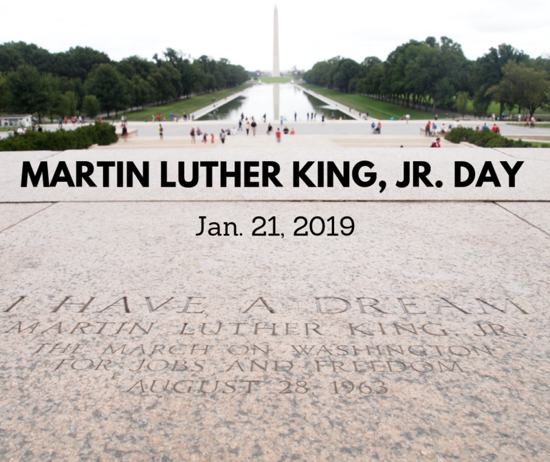 FCSD to observe Dr. Martin Luther King, Jr. Holiday Featured Photo