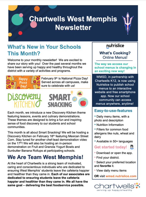 Chartwells Newsletter