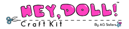 Hey Doll Craft Kit Logo