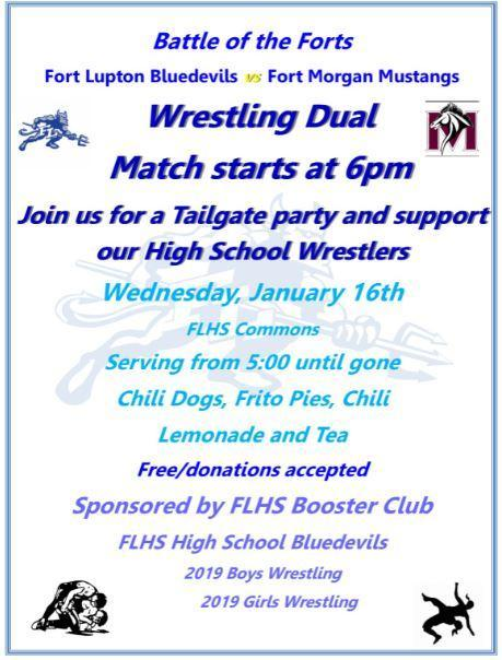 FLHS Wrestling Dual