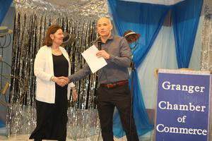 Certified Staff member receives award