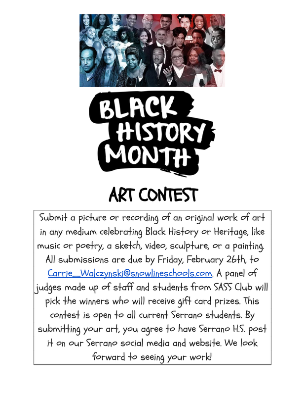 Black History Month - Art Contest Featured Photo