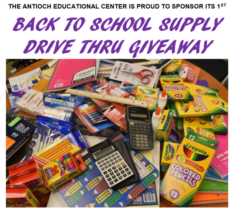 BACK TO SCHOOL DRIVE THRU GIVEAWAY!! Featured Photo