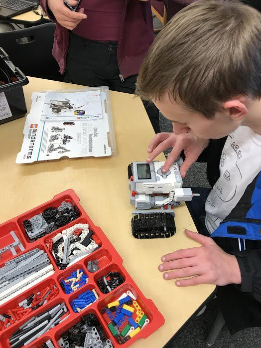Archaeology students incorporate robots in their excavation unit!