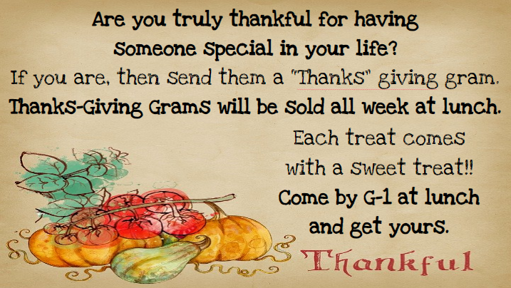 Thanksgiving Gram
