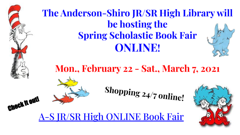 Anderson-Shiro JR/SR High Spring Online Scholastic Book Fair Featured Photo