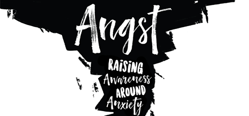 Text: Angst Raising Awareness around Anxiety