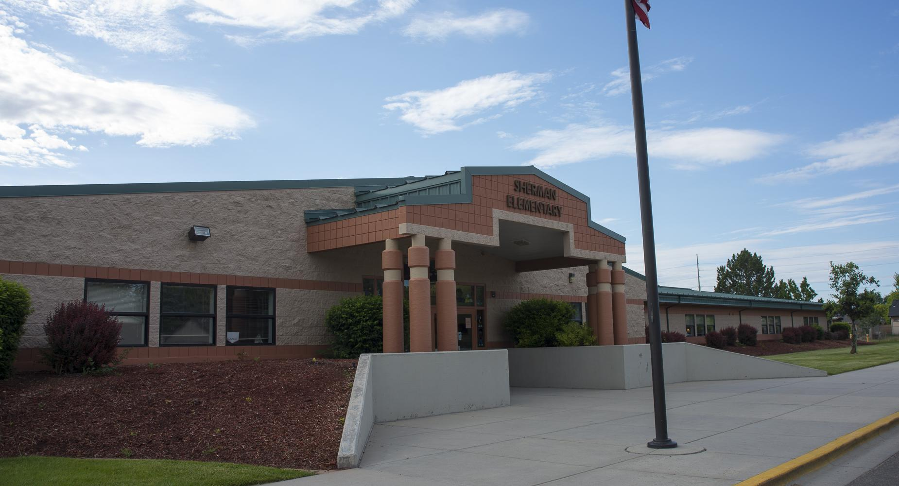 Sherman Elementary exterior.