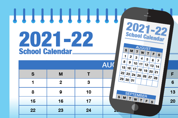 School Calendar published for 2021-22 Featured Photo