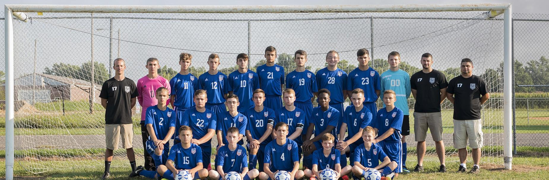 Carlinville High School Boys Soccer Team
