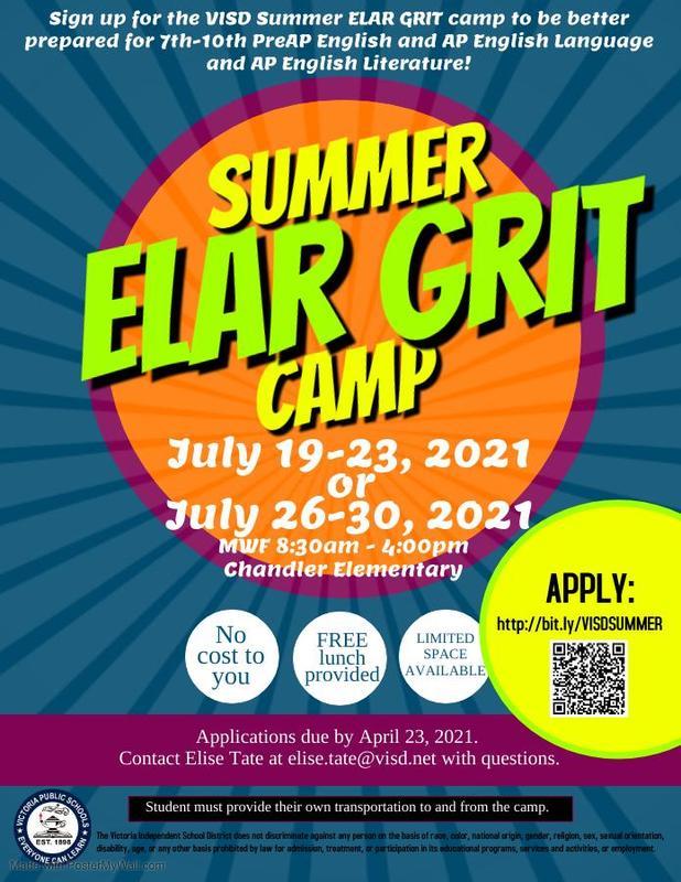 ELAR grit camp