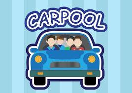 Carpool Cartoon Image