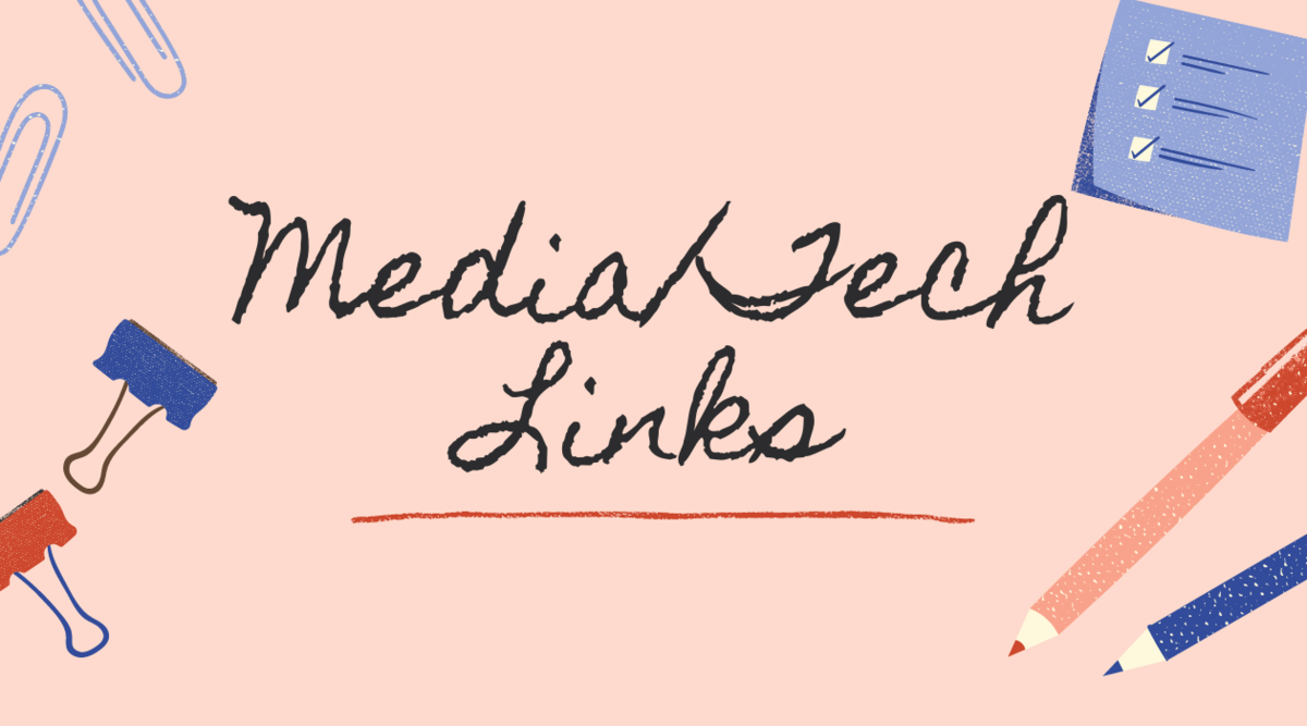 media and tech links