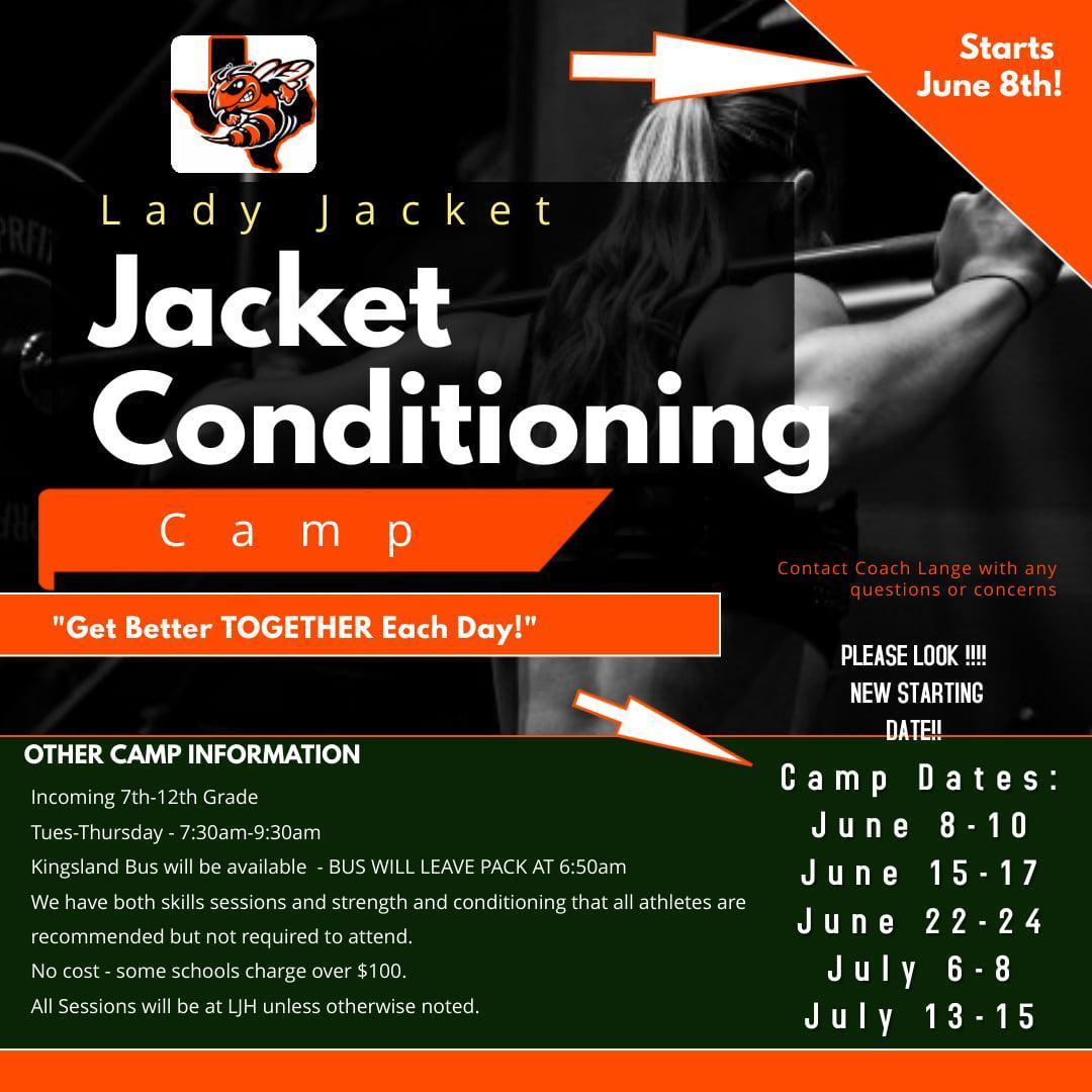 Lady Jacket Conditioning