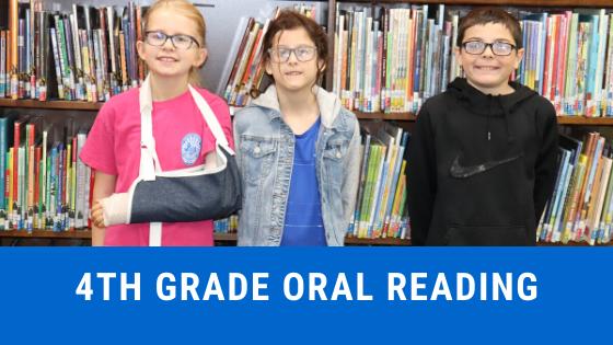 4th grade oral reading
