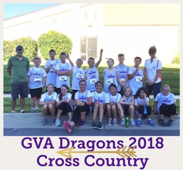cross country team at gva dc