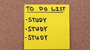 To Do List: Study, Study, Study