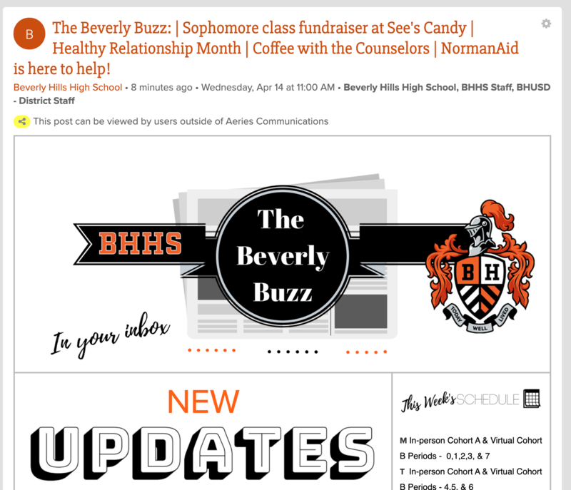 BHHS Newsletter - The Beverly Buzz - April 14, 2021