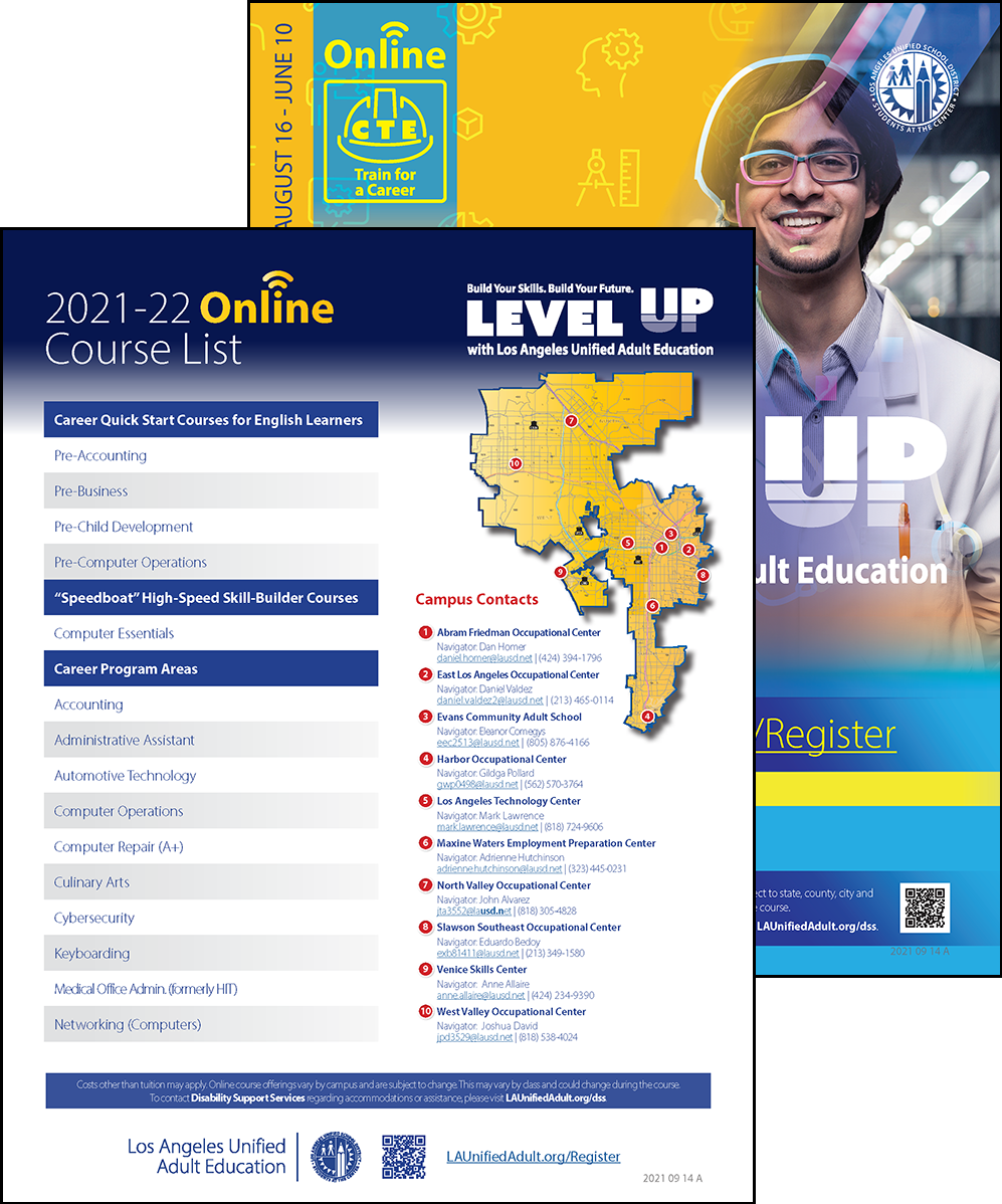 Career Technical Education Flyer - Online - Cover 06