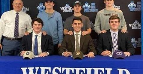 Reid Colwell — Villanova University - Lacrosse Nick Martini — Wagner College - Lacrosse Colin Freer — Princeton University - Lacrosse Will Kessler — Georgetown University - Football Hank Shapiro — Lehigh University - Football Declan McCauley — College of the Holy Cross — Football