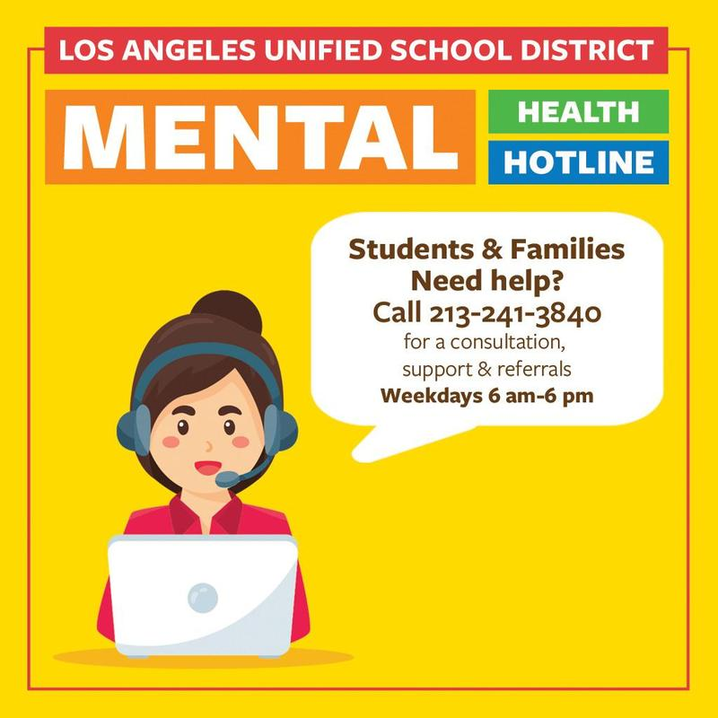 Mental Health Support for Students and Families Featured Photo