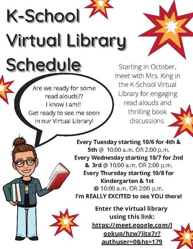 Virtual library hours