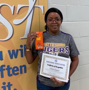 Ms. Ferlisha Thompson, Math