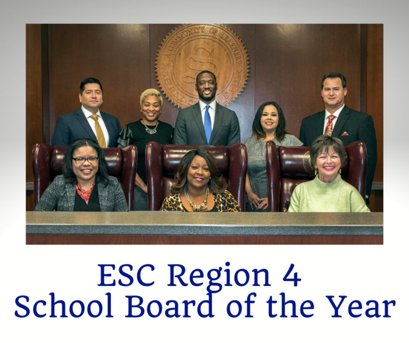 SISD Board of Trustees selected as Region 4 School Board of the Year Featured Photo